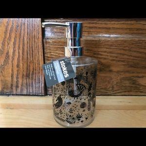 Brand new Stokes woodland creature soap dispenser